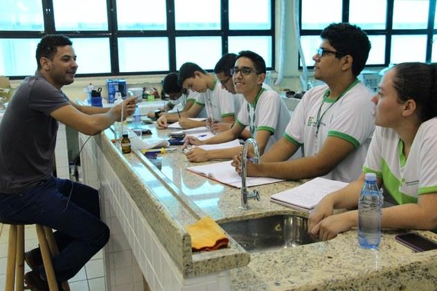 Atividades realizadas no Campus Campo Grande