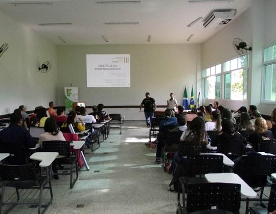Simpósio de Ensino de Ciências realizado em 2015