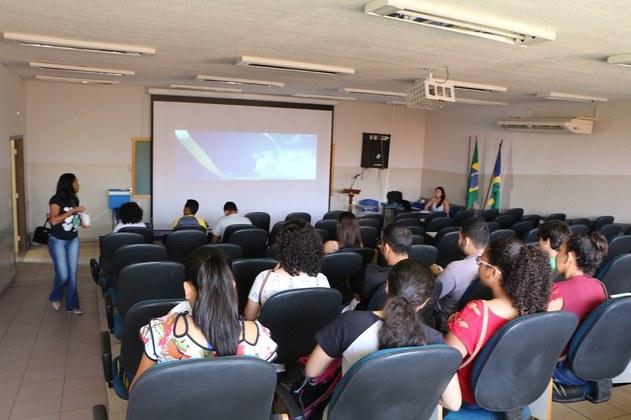 Auditório da unidade II da UFMS