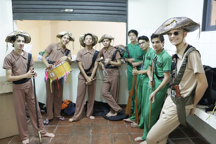 Grupo de teatro IFMS