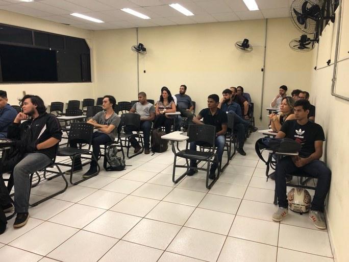 1º Dia de Aula do Curso Superior de Tecnologia em Jogos Digitais