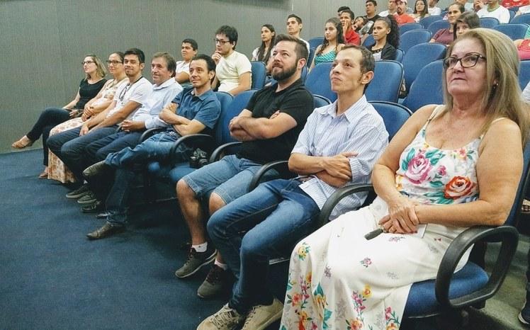 Solenidade de lançamento dos cursos superiores do Campus Jardim