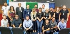 Servidores do Campus Jardim recepcionam os palestrantes da noite
