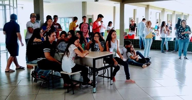 Terça-cultural no Campus Jardim