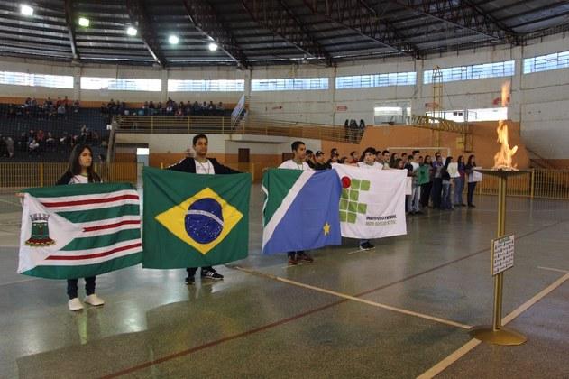 Entre os dias 22 e 24 de maio, o Campus Nova Andradina promoveu a 1ª etapa dos Jogos Estudantis da unidade, o Jifena, com competições no futsal, handebol, tênis de mesa, vôlei e xadrez