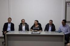 Dirigentes se reuniram na sede da UFGD, em Dourados, na segunda, 11.
