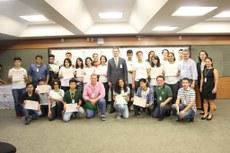 Premiação foi entregue em cerimônia realizada na reitoria do IFMS