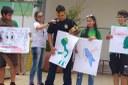 Concurso de mascotes foi uma das atividades da competição